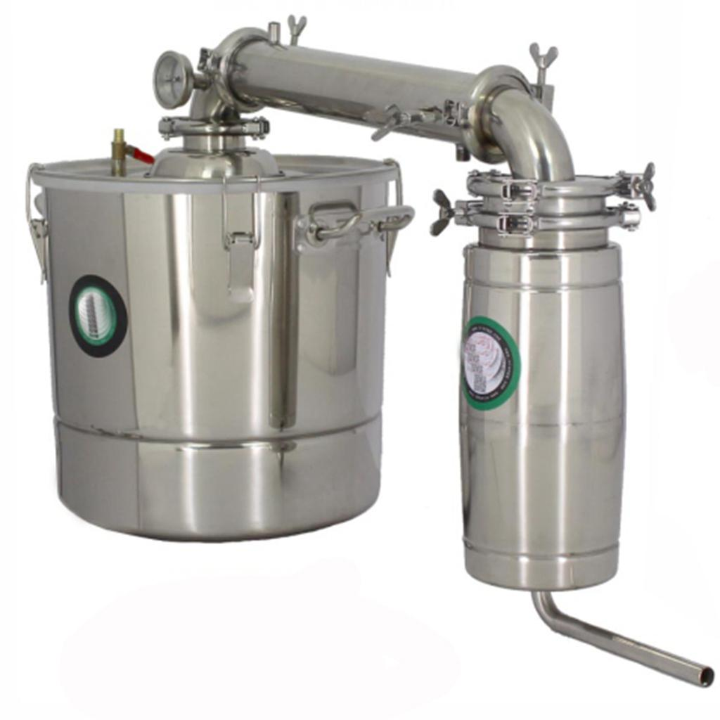 30L Stainless Water Alcohol Distiller Home Brew Kit Wine Making Boiler