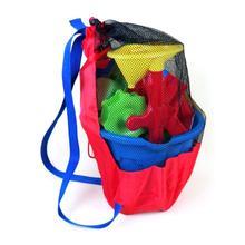 Handbag Storage-Bag Collect-Toys Beach-Mesh Swimming-Wash Kids Portable Tote Net Folding