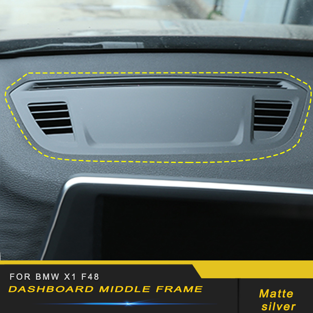 For BMW F48 X1 2016 2017 2018 Auto Car styling Dashboard Center Console Frame Trim Cover Sticker Interior Accessories|Automotive Interior Stickers| |  - title=