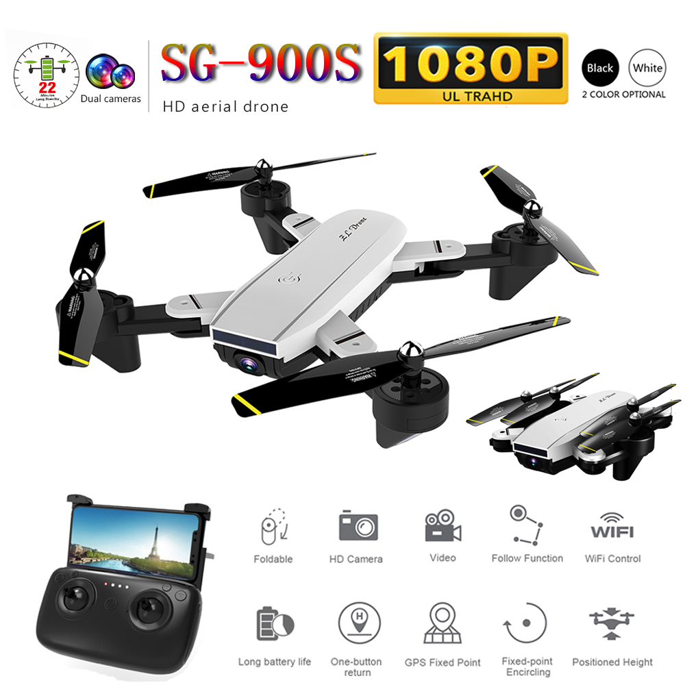 SG900 Professional Foldable Quadcopter with 720 HD Camera WIFI FPV Drone