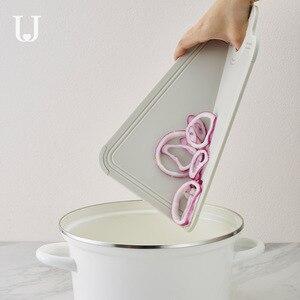 Image 3 - Youpin dobrável placa de corte de grau alimentício pp proteção ambiental cozinha placa de corte do agregado familiar mini placa de corte de frutas