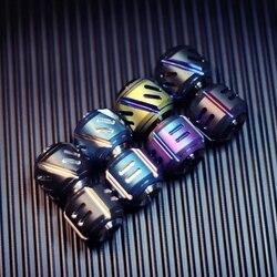 Originale Materia Oscura Coltello Lega di Goccia Giroscopio Mini Punta Delle Dita Giroscopio Titanium Interdigitale a Spirale Edc Attrezzature