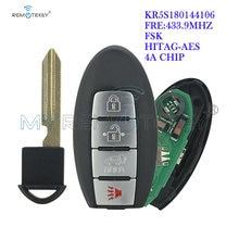 Смарт ключ remtekey s180144106 kr5s180144106 285e3 4cb6c 4 кнопки
