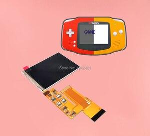 Image 5 - 10 ebenen Hohe Helligkeit IPS Hintergrundbeleuchtung LCD Bildschirm für Nintend GBA Konsole Ersatz Hintergrundbeleuchtung Bildschirm