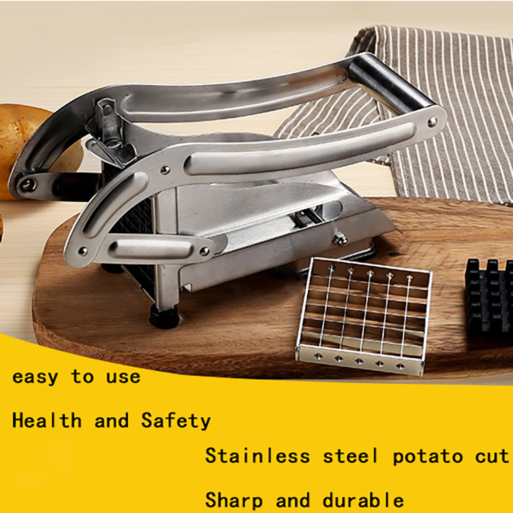 Stainless Steel French Fry Potato Chipper Cutter Potato Chip Making Kitchen Gadgets Kitchen Cooking Tools Food Cutting Machine 5