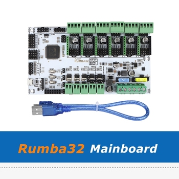 Upgrade DIY Rumba 32 Control Board RUMBA32 3D Printing Motherboard Compatible with Marlin 2.0 32Bit For 3D Printer Accessories