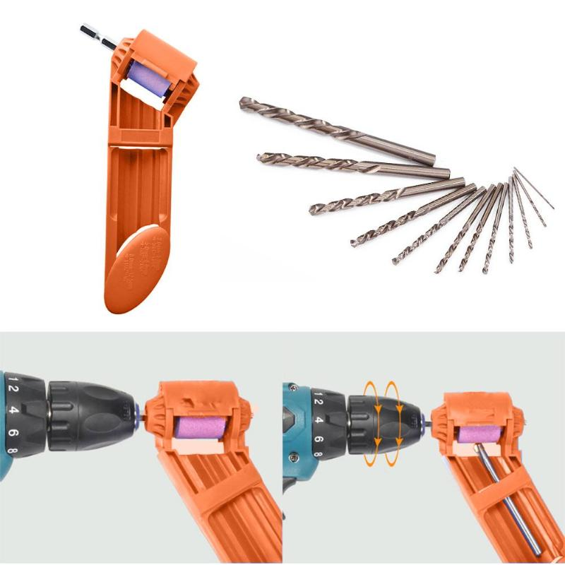 2-12.5mm Drill Bit Corundum Grinding Wheel Polishing Head Sharpen Abrasive Tool Machine Power Tools Accessories
