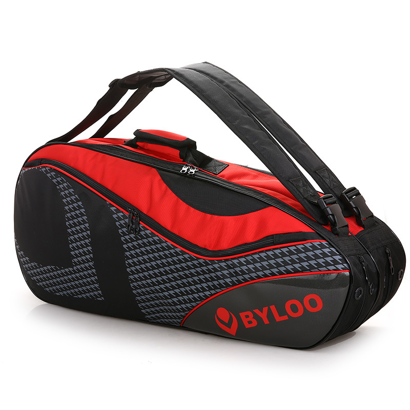 2018 New Style Good-looking Backpack 6-9 Only-Extra-large Thick Wear-Resistant Men And Women-Double Shoe Bag Badminton Bag