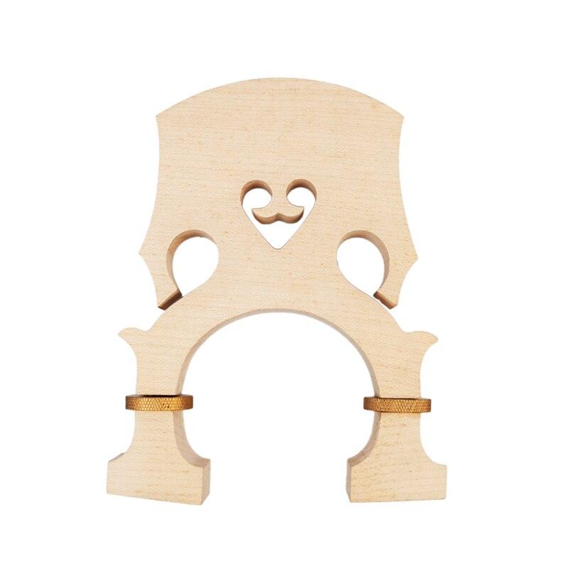 Pont de basse 3/4 Standard érable basse réglable pont accessoires de basse accessoires d'instruments de musique