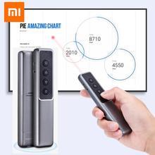 Xiaomi Mijia GUILDFORD אלחוטי מגיש לייזר להעיף עט לייזר PPT דף עט השלט מצגת עט עם USB מקלט