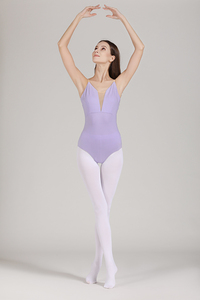 Image 5 - בלט בגדי גוף ריקוד נשים חדש הגעה קיץ אדום אפוד התעמלות ריקוד תלבושות למבוגרים באיכות גבוהה סקסי בלט בגד גוף