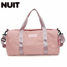 Women Large Capacity Nylon Travel Bags Mens Casual Travelling Duffle Portable Luggage Tote Bag