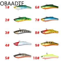 1Pcs Plastic new Luya fake bait bionic 7cm / 17.8g laser long shot plastic VIB hard fishing tackle