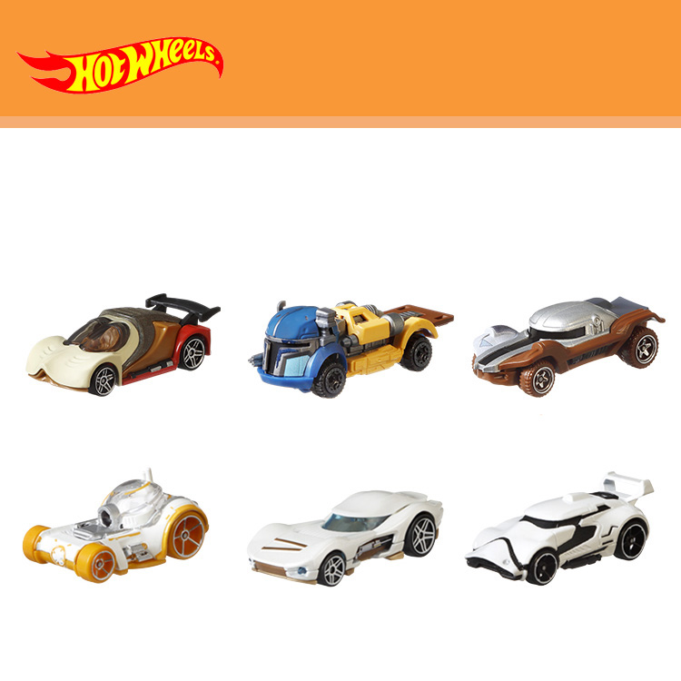 Hot Wheels Model Car Movie Theme Culture Series Juguetes Hot Toys Classic Alloy Car Voiture Toys for Boys Gift GJH91