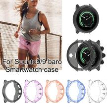 High-quality TPU Watch Case Cover Durable Universal Smartwatch Protective Shell Comprehensive Protection Cover For Suunto 9