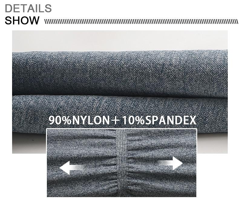 Yoga leggings fabric details
