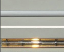 Weaving type carbon fiber filament infrared quartz IR heat tube for ladies