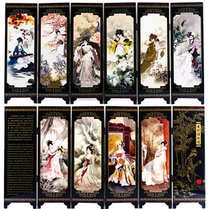 Laque Antique petit écran décoration   Cadeau de décoration de la chine diviseur de pièces, panneaux décoratifs, diviseur d'écran de la salle