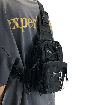 Tactical Men Chest Bags Designer Cool Shoulder Crossbody for Hip Hop Streetwear Bag Short Trip Travel Messengers - discount item  36% OFF Women's Handbags