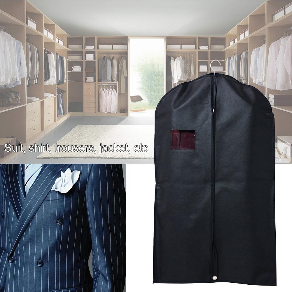 1 Pcs Dustproof Hanger Coat Clothing Garment Suit Cover Storage Bags Clothing Storage Bag Clothes Covers