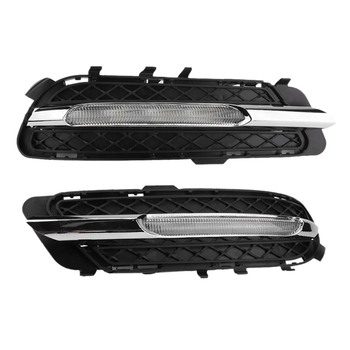 Car LED Daytime Running Lights DRL Fog Lights for Mercedes-Benz W212 E250 E300 E350 2009-2013 2128851574 2128851674