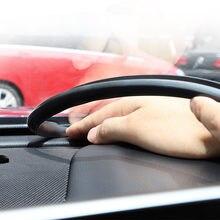 Evrensel araba ses geçirmez kauçuk conta pano sızdırmazlık şeridi Mercedes Benz için W211 W204 W212 Audi A4 A3 BMW E90 E60 aksesuarları