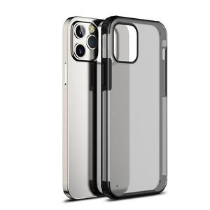 Image 1 - Antiurto Cassa Del Telefono Per il iPhone 12 11 Pro Max Caso Della Copertura Per il iPhone XR XS X 7 8 Più caso Trasparente Fonda Opaca Coque