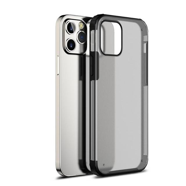 Antiurto Cassa Del Telefono Per il iPhone 12 11 Pro Max Caso Della Copertura Per il iPhone XR XS X 7 8 Più caso Trasparente Fonda Opaca Coque