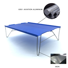 Picnic Table Outdoor Water-Snack-Table Aluminum-Alloy Mini Tea And