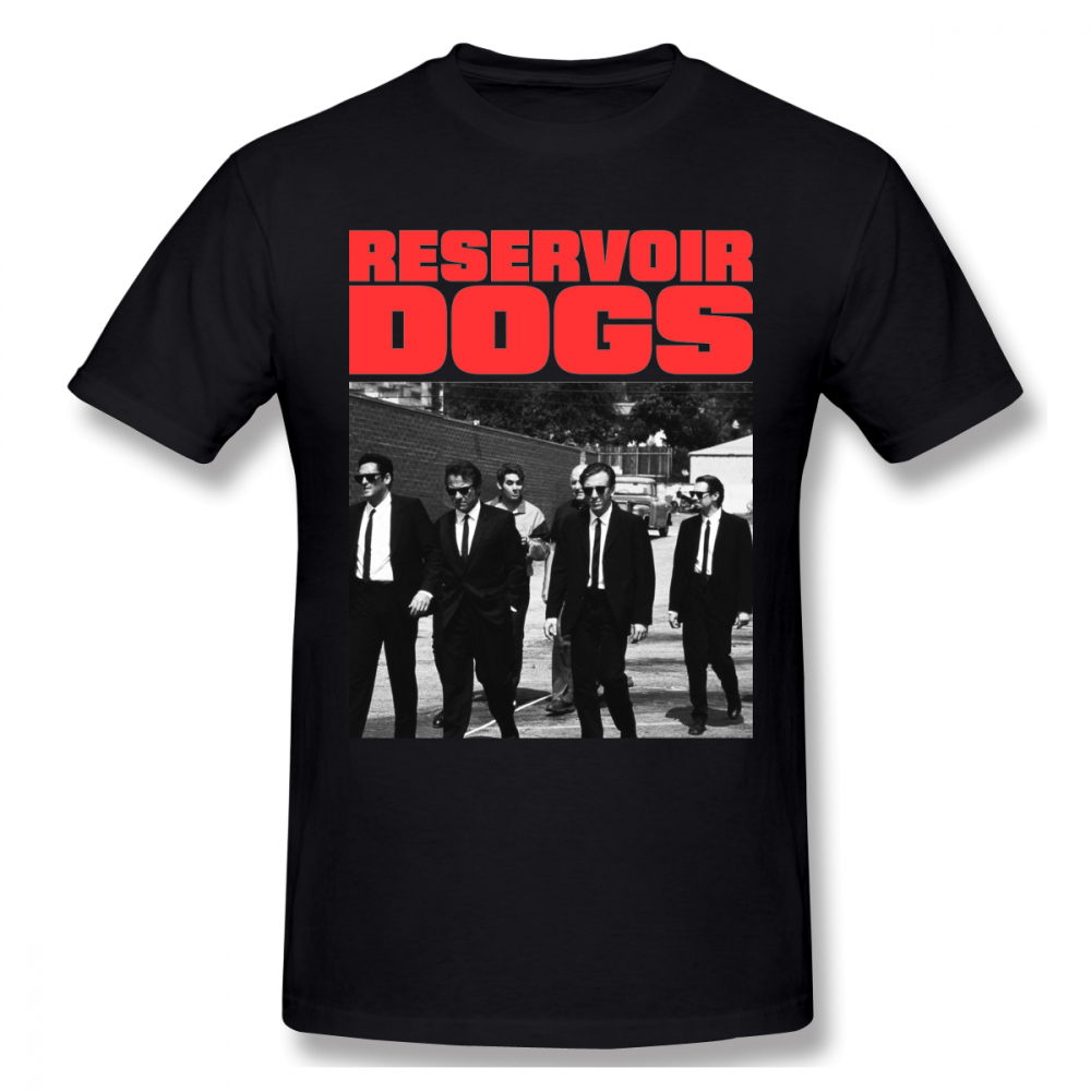 For Man Reservoir Dogs Graphic Cotton T Shirt Good Design Cool Homme Tee Shirt Round Neck Free Shipping T-shirt