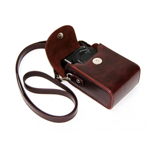 Image 4 - Leather Case Bag for Sony ZV1 RX100II III VI V IV 7 6 5 4 3 RX100M6 RX100M5 RX100M4 RX100M3 RX100M7 Case Cover for Nikon Olympus