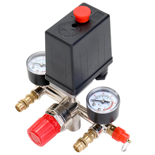 125 PSI 12 Bar Small Air Compressor Pressure Switch Control Adjustable Regulator Valve Instrument цена и фото