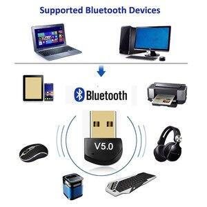 Image 4 - Kebidu מיני BT 5.0 מתאם USB Dongle אלחוטי USB Bluetooth משדר 5.0 מוסיקה מקלט Bluetooth מתאם עבור מחשב PC