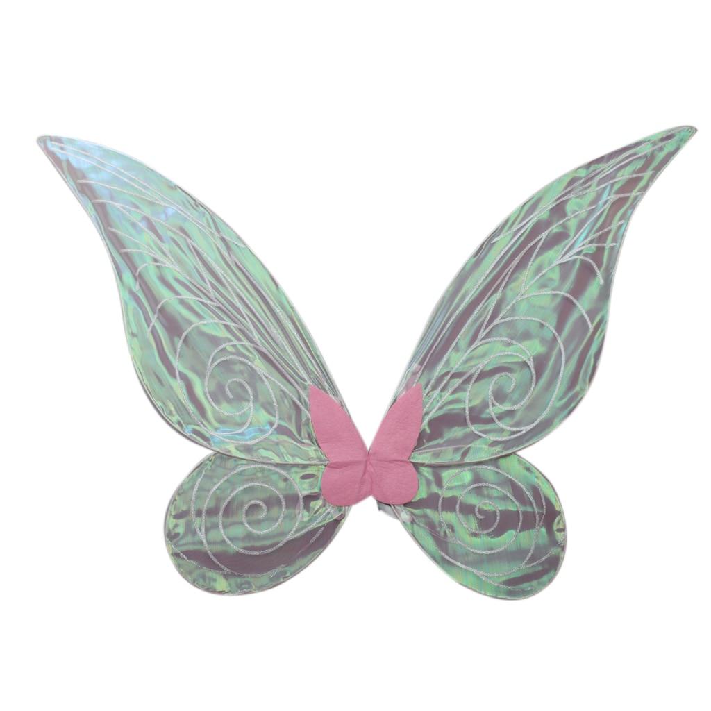 Блестящее меняющее цвет платье крылья бабочки и феи для взрослых и детей