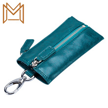Japan More Function Key Package Genuine Leather Man Zipper Small Package Automobile Key Package