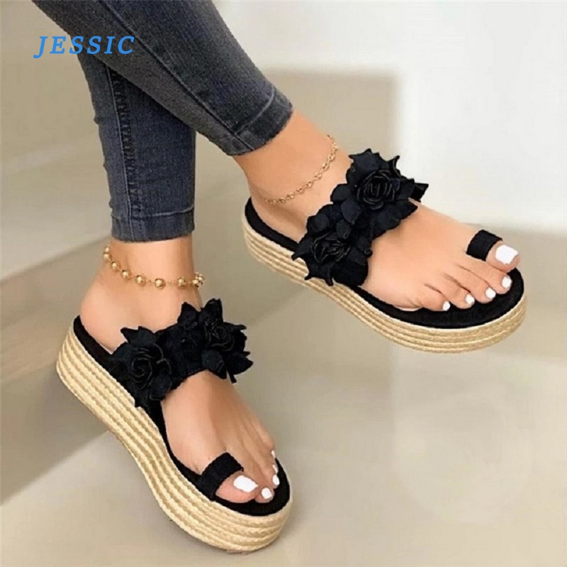 JESSIC Summer Casual Women Sneakers Shoe Fashion Bow Women Breathable Flats Slip On Canvas Loafers Female Footwear