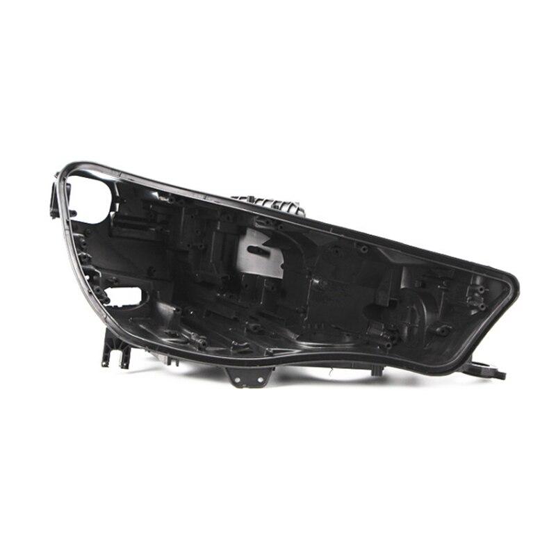 A4L shell Headlight black casing lens cover lampshade Headlight black base Black plastic house black shell FOR audi A4L2016-2019