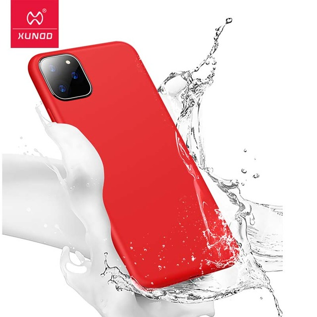 For iPhone 11 Pro 5.8 2019 Case, Xundd Liquid Silicone Full Shockproof Armor Cover For iPhone 11 Pro Max 6.5 2019 Case Fundas