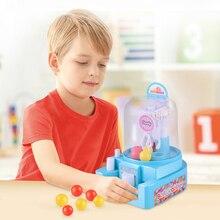Мини-машина для ловли конфет, игрушечная механическая рука, маленький шаровой кран, ручной коготь, кран для игровых автоматов, игрушка для ловли детей