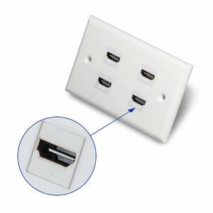 Image 5 - HDMI Keystone Jack 10 paquetes HDMI Keystone inserto adaptador hembra a hembra acoplador