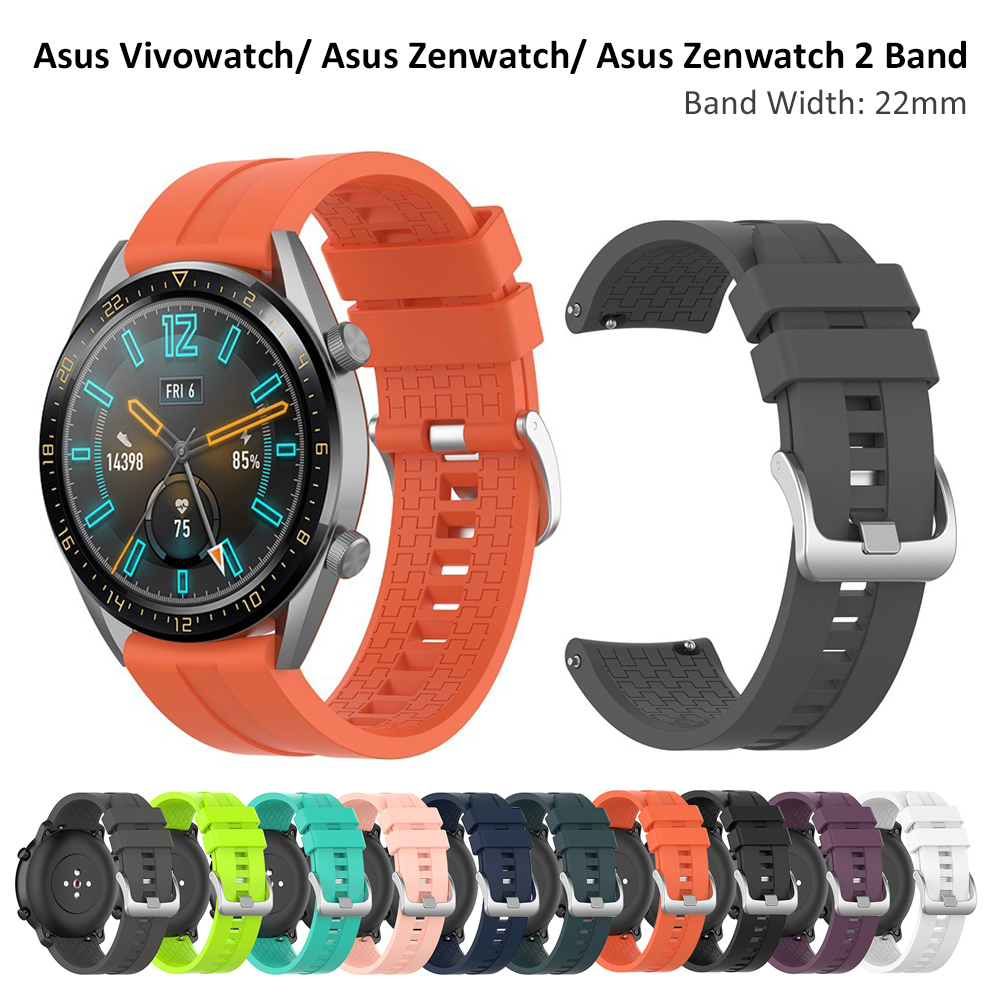 Band Strap For Asus Vivowatch/ Asus Zenwatch/ Asus Zenwatch 2 Watchbands Replacement For Garmin Vivoactive 4 Wrist Band 22mm
