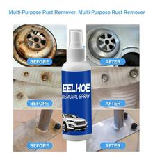 100ml Rust Remover MultiPurpose Rust Inhibitor Auto Cleaning Converter Remover Maintenance Spray Rust Car Derusting Rust Wi R9K4