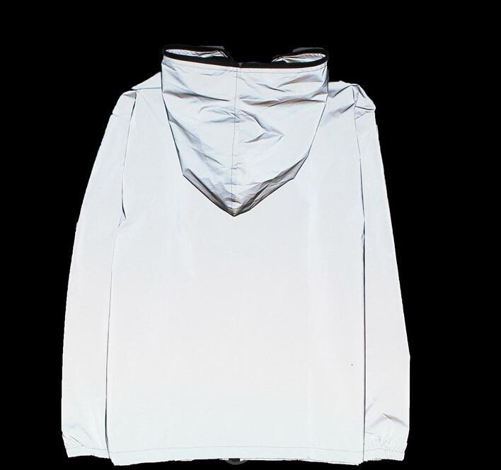 H60688de2f34348e69cedbb7f71cfeab4L 5XL 4XL Men's 3M Full Reflective Jacket Light Hoodies Women Jackets Hip Hop Waterproof Windbreaker Hooded Streetwear Coats Man