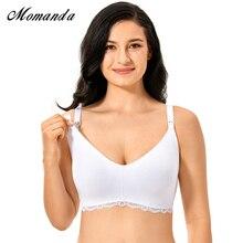 MOMANDA, женский бюстгальтер для грудного вскармливания, без косточек, хлопковый бюстгальтер для беременных