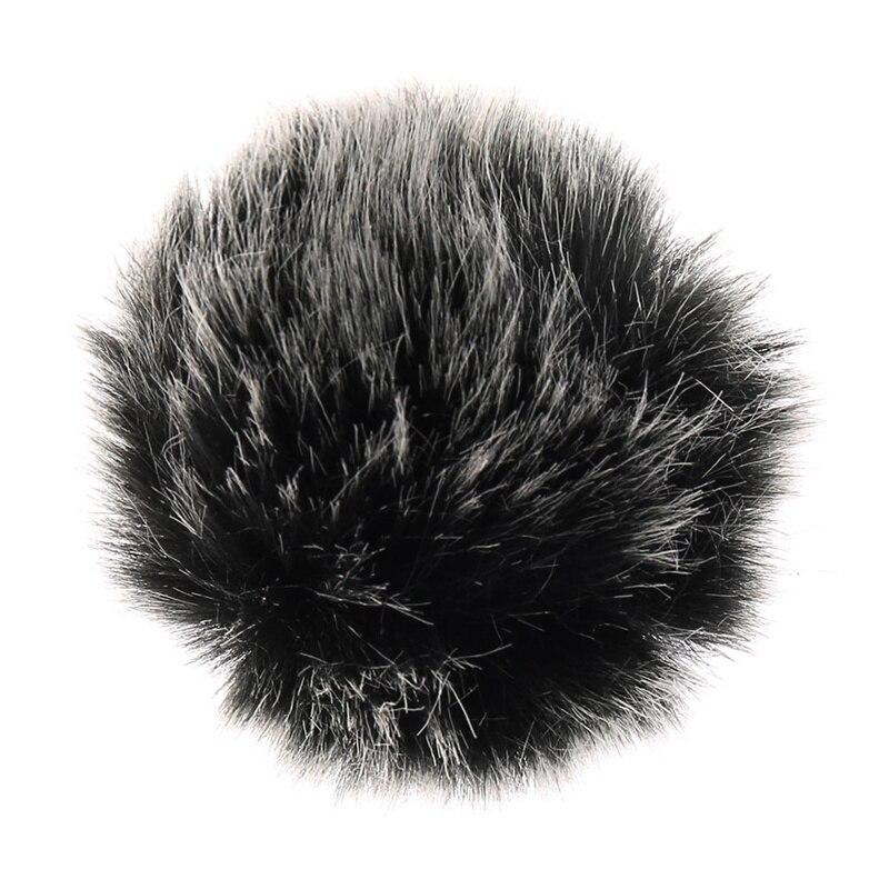 Универсальный Петличный Микрофон лобового стекла автомобиля мини Размеры петличный микрофон Меховая муфта для лобового стекла 5 мм|Аксессуары для микрофонов|   | АлиЭкспресс