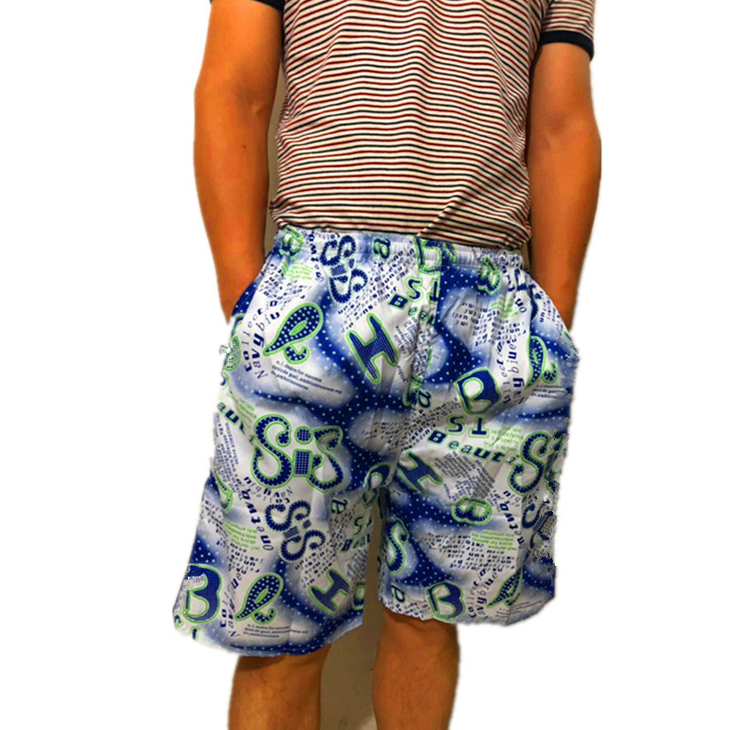 MEN'S Beach Pants Quick-Dry Casual Short Sports Swimming Trunks Stall Supermarket Supply Of Goods
