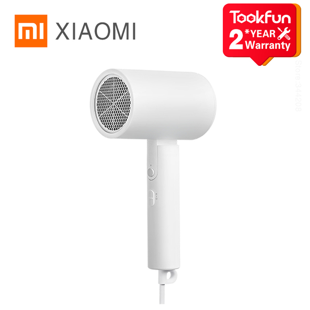 2020 New XIAOMI MIJIA Portable Anion Hair Dryer H100 Professinal Quick 1600W Travel Foldable Hairdryer Nanoe Water ion Hair Care