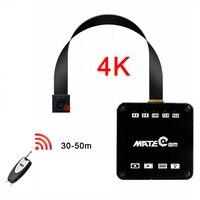 Módulo de câmera 2k wifi, 16mp, 4k, wifi, profissional, micro dv, gravador de voz, controle remoto, filmadora
