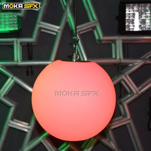 Image 3 - RGB Farbwechsel Led aufzug Ball dmx 512 8 chs Led Effekt Licht für nacht club professionelle bühne hochzeit dekoration