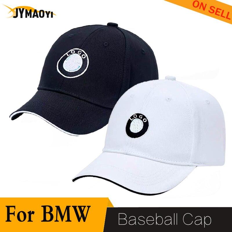 JYMAOYI لسيارات bmw قبعة قبعة بيسبول لسيارات BMW البيسبول أنيق ل قبعة لعبة الغولف قابل للتعديل بلغت ذروتها قبعة رياضية 2020 جديد أسود/أبيض